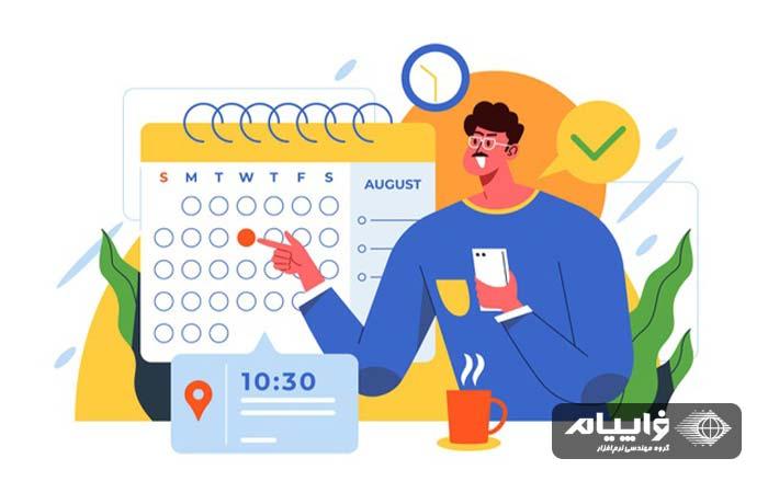 تقویم محتوای وبسایت