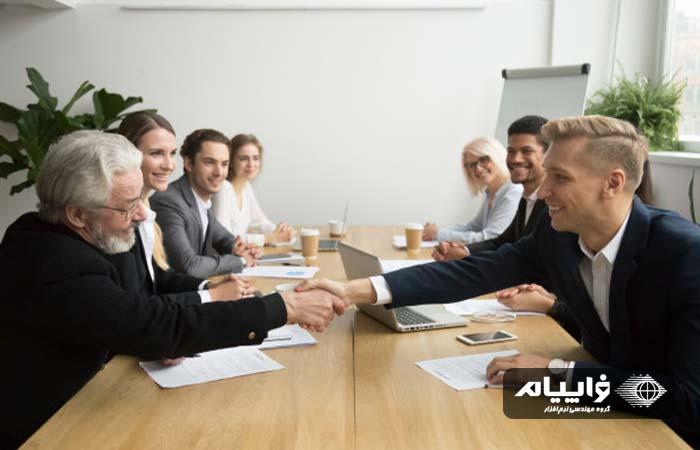 تبدیل مشتری به شریک
